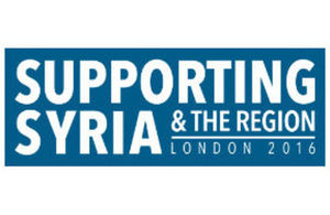 Supporting Syria logo
