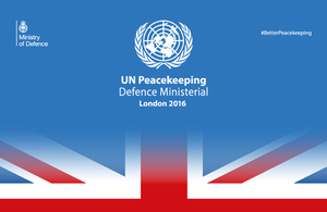 United Nations Peacekeeping Defence Ministerial: London 2016