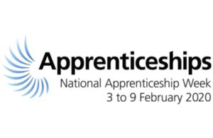 National Apprenticeship Week 2020 logo.