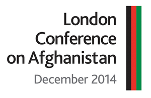 London Conference on Afghanistan December 2014 logo