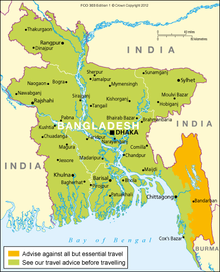 Bangladesh travel advice gov download map pdf publicscrutiny Gallery