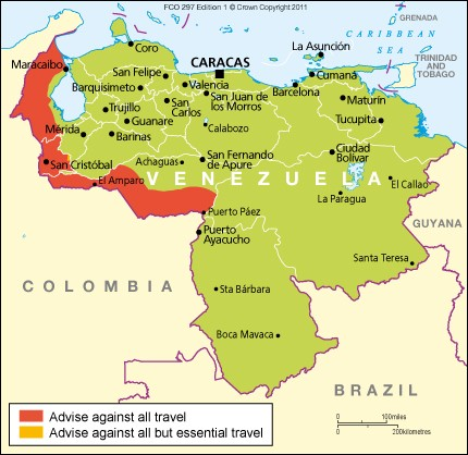 Venezuela travel advice - GOV.UK