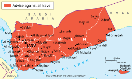 Yemen travel advice