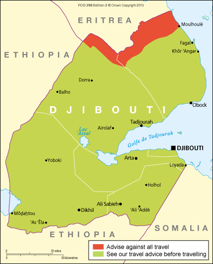 Djibouti travel advice