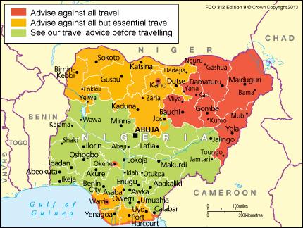 Nigeria Travel Advice Gov Uk