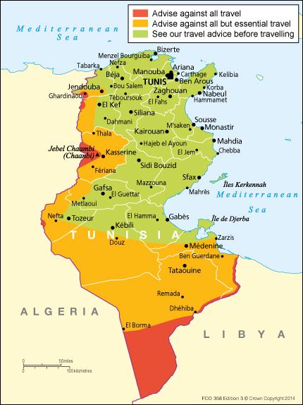 Tunisia Travel Advice Gov Uk