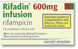 Rifadin 600mg infusion