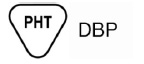 Contains or presence of phthalate: dibutyl phthalate (DBP) symbol