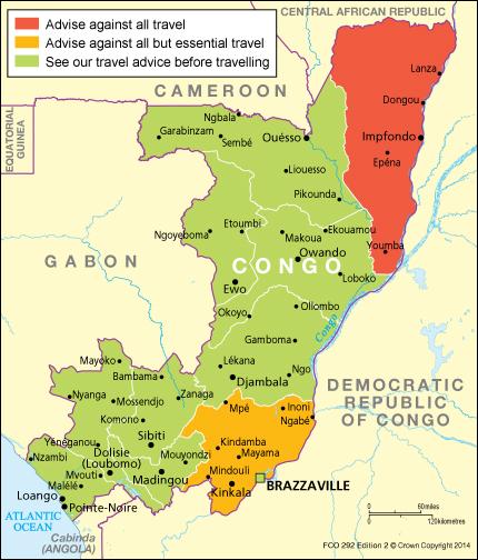 Congo Travel Advice Govuk