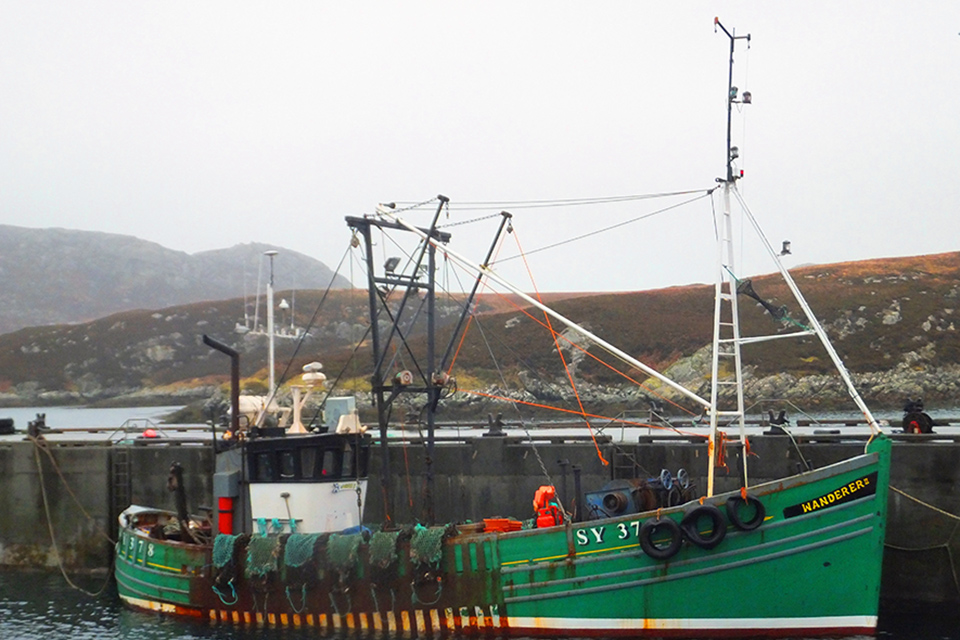 Photograph of fishing vessel Wanderer II
