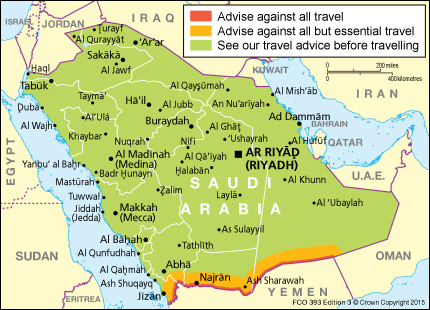 Saudi arabia travel advice gov download map pdf publicscrutiny