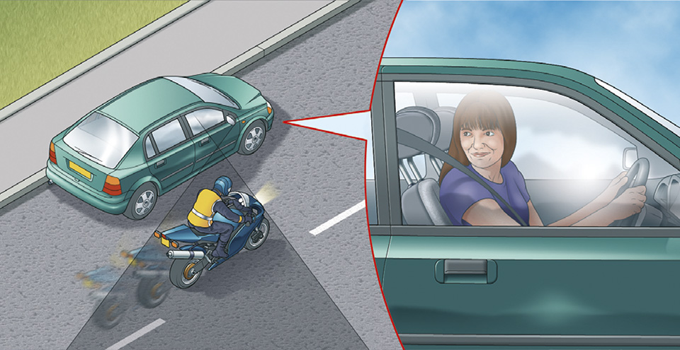 Rule 159: Check the blind spot before moving off