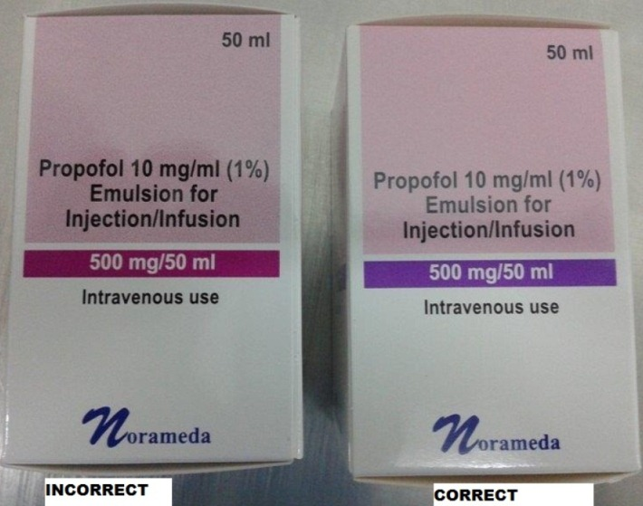 (Uab Norameda) distributor Peckforton Pharmaceuticals Limited has identified an error on the presentation of the 50ml carton - the coloured band on the package should be purple not pink although text is correct (EL(15)A/06)