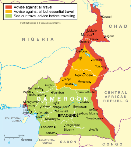 Cameroon travel advice - GOV.UK CAMEROON