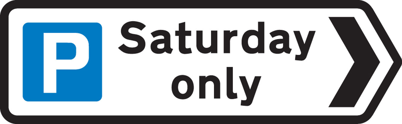 Direction to a car park