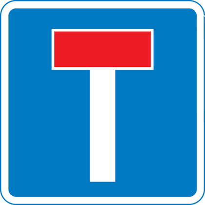 No through road for vehicles