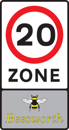 Entry to 20 mph zone