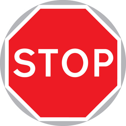 Image result for uk road signs design stop