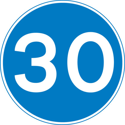 Minimum speed