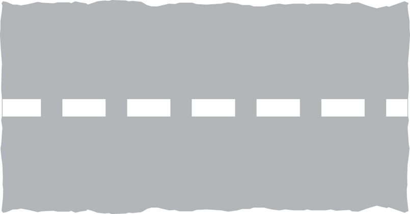 Stop line for pedestrians at a level crossing