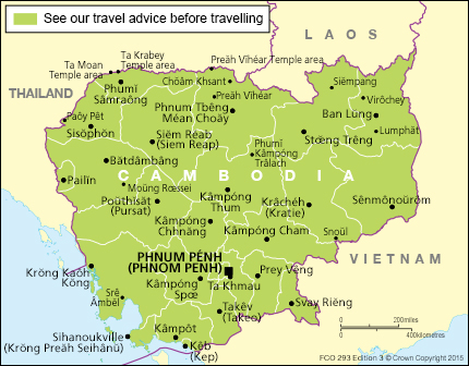 Cambodia Travel Advice Govuk