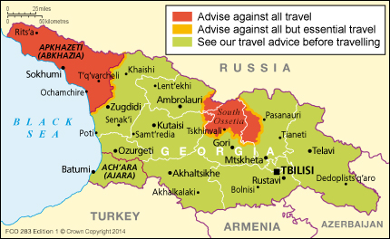 Georgia travel advice gov download map pdf gumiabroncs Image collections
