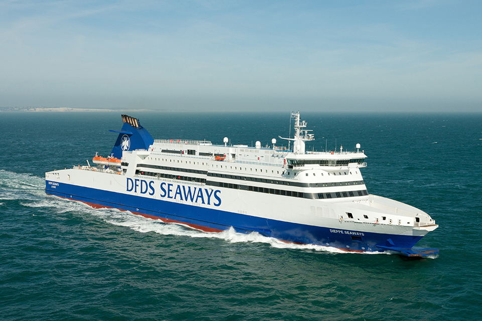 Photograph of ferry Dieppe Seaways
