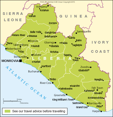 Liberia travel advice - GOV.UK