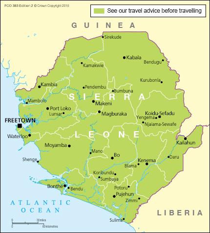 Sierra Leone travel advice GOVUK