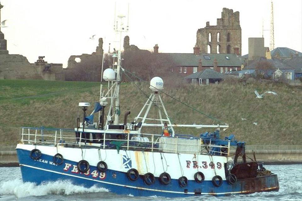 Fishing vessel Ocean Way FR349