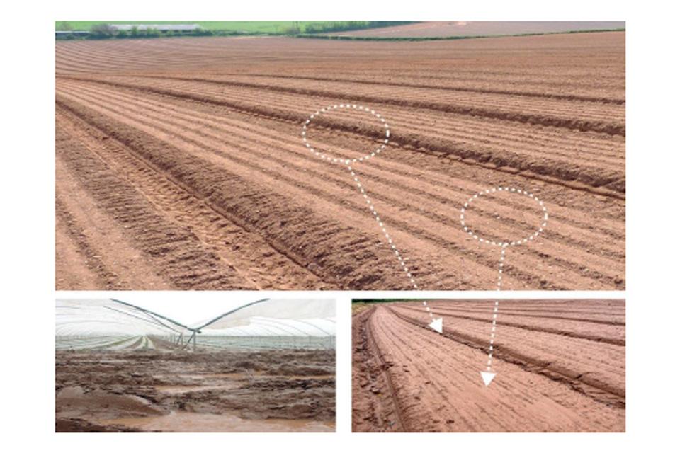 Gaec 5 minimising soil erosion guide to cross for Soil erosion causes