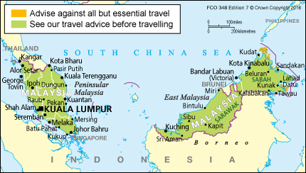 Malaysia Travel Advice Gov Uk