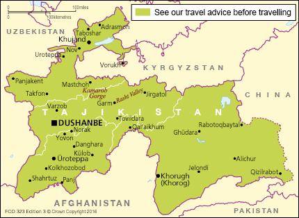 Tajikistan travel advice GOVUK