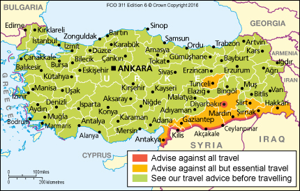 Turkey travel advice gov download map pdf publicscrutiny Gallery