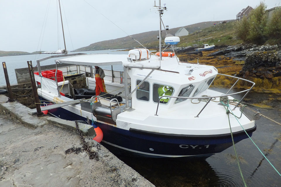 Photograph of creel fishing vessel Annie T