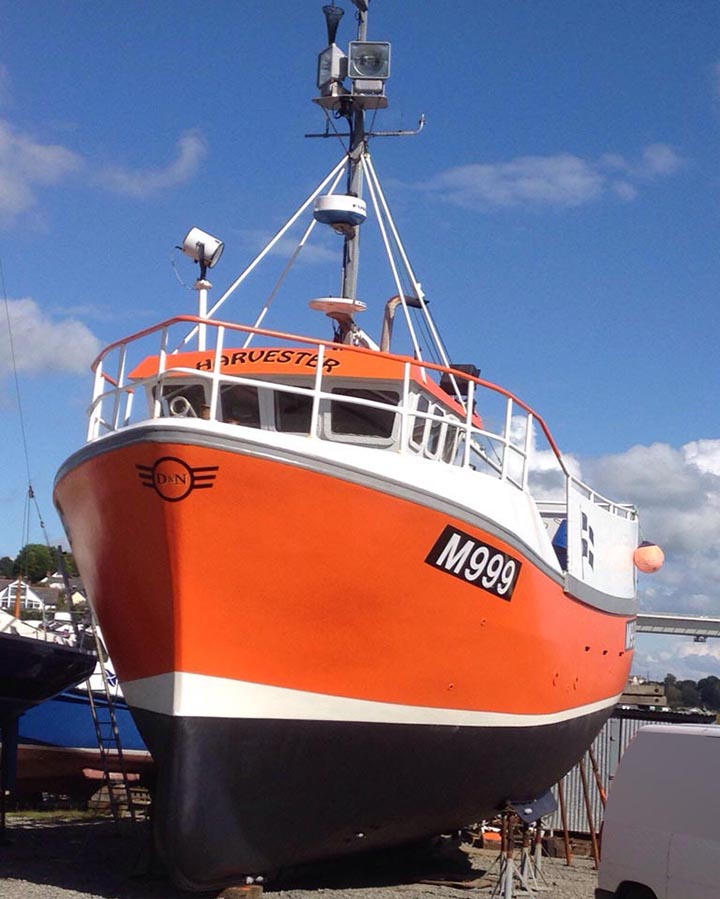 Photograph of the fishing vessel Harvester