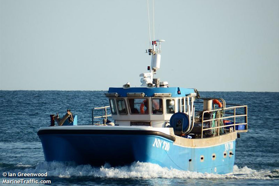 Photograph of potter Our Sarah Jane (image courtesy of Ian Greenwood, www.marinetraffic.com)