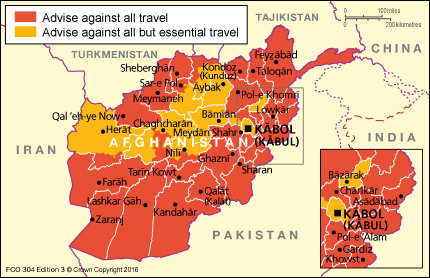 Afghanistan travel advice gov download map pdf publicscrutiny