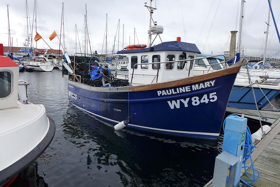Fishing vessel Pauline Mary