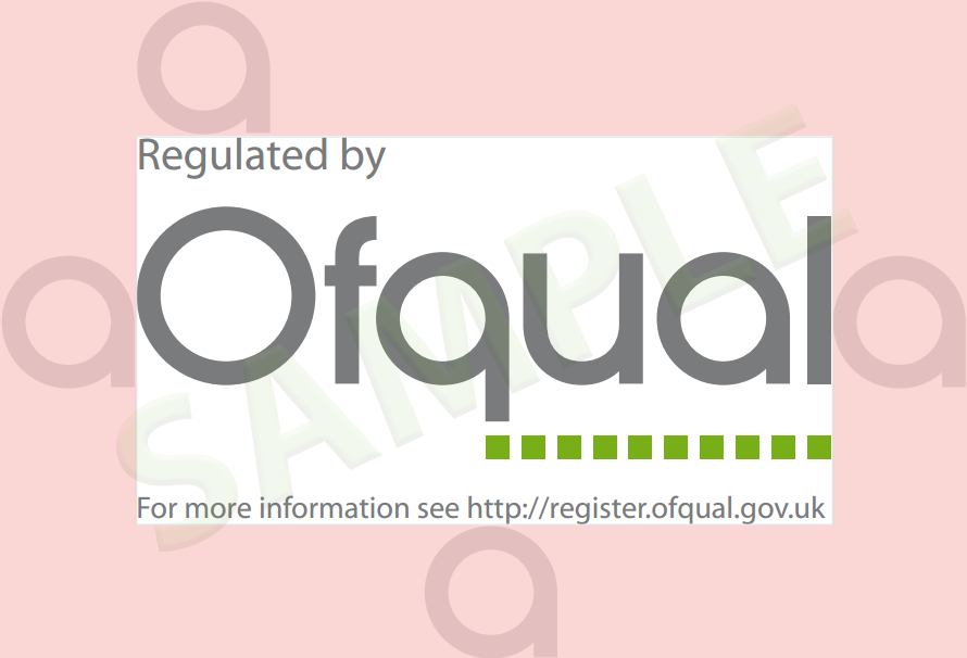 Ofqual Logo exclusion zone