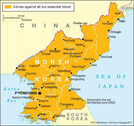 Korea, DPR (North Korea) travel advice   GOV.UK