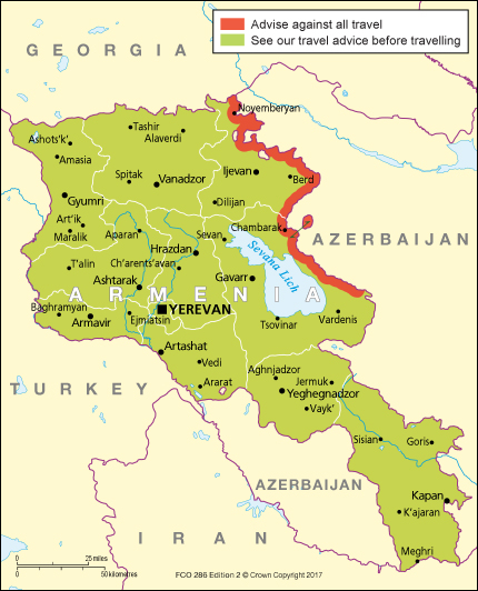 Armenia travel advice - GOV.UK