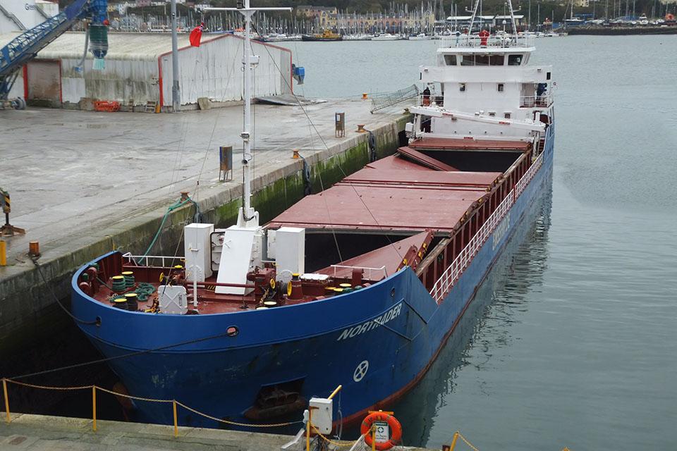 Photograph of general cargo ship Nortrader