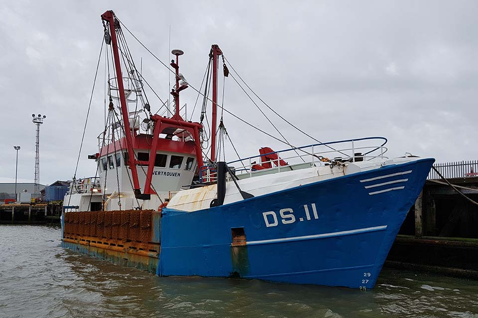 Fishing vessel Vertrouwen