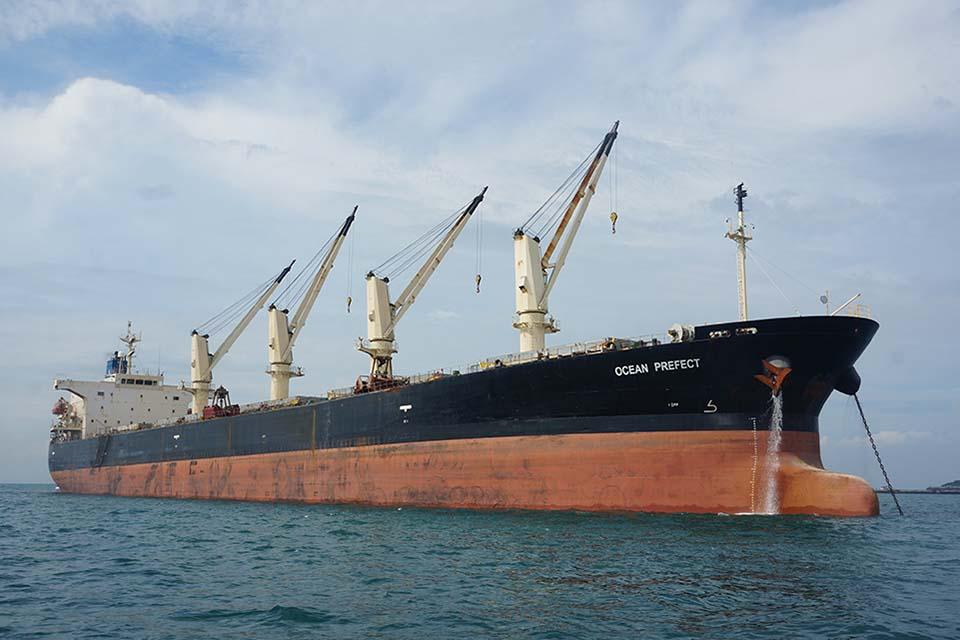 Groundings made by bulk carrier Ocean Prefect - GOV UK