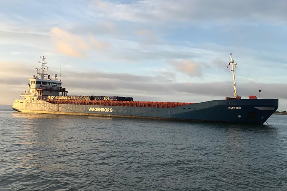 Grounding of general cargo vessel Ruyter - GOV UK