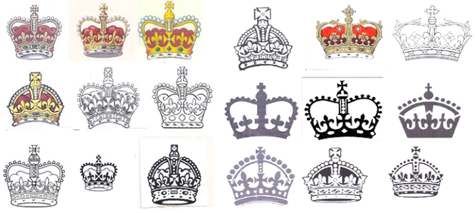 Representations of the Royal Crown or Royal Flags (section 4(1)(b))