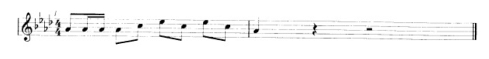 Assessing distinctive character - musical notes