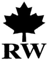 Maple leaf RW black and white - Example 2