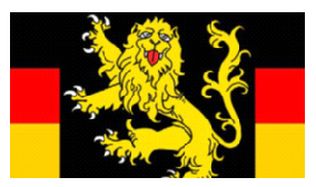 German flag with lion - Example 5